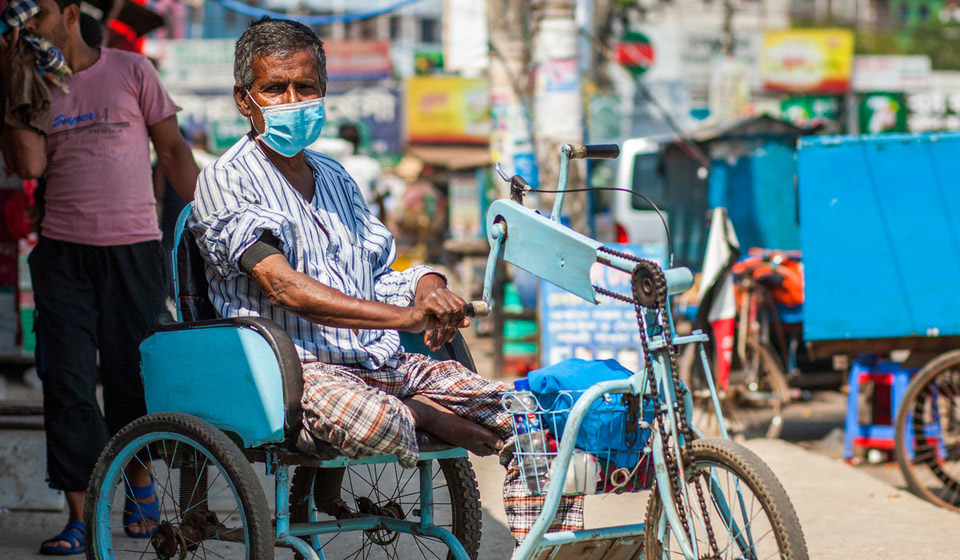 Vulnerable people in developing countries like Bangladesh are expected to be hit particularly hard by the COVID-19 pandemic.