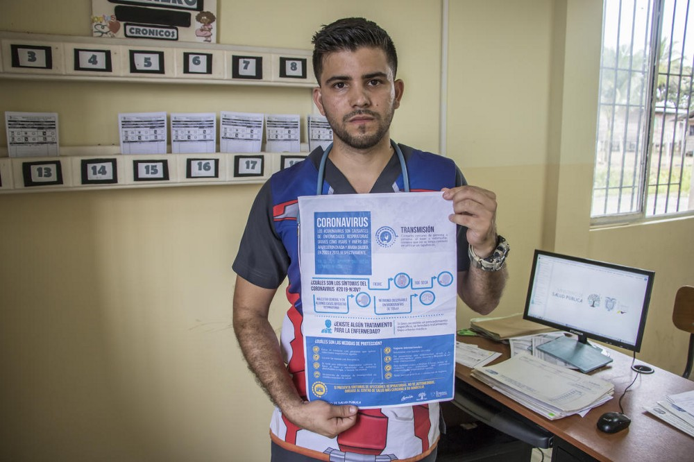 Venezuelan doctor, Samuel Suárez, has been educating locals and other refugees about COVID-19 in Ecuador, his adopted country.