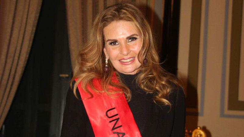 UNAIDS Goodwill Ambassador for the Middle East and North Africa, Yousra.
