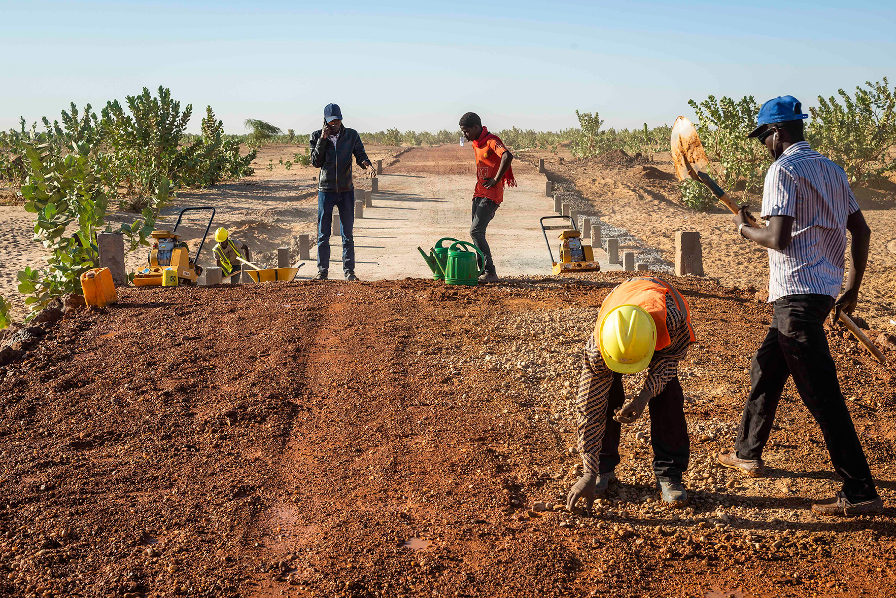 """""""Jobs that change lives"""": In Mauritania, prospects for a better life are now within reach for many young people"""