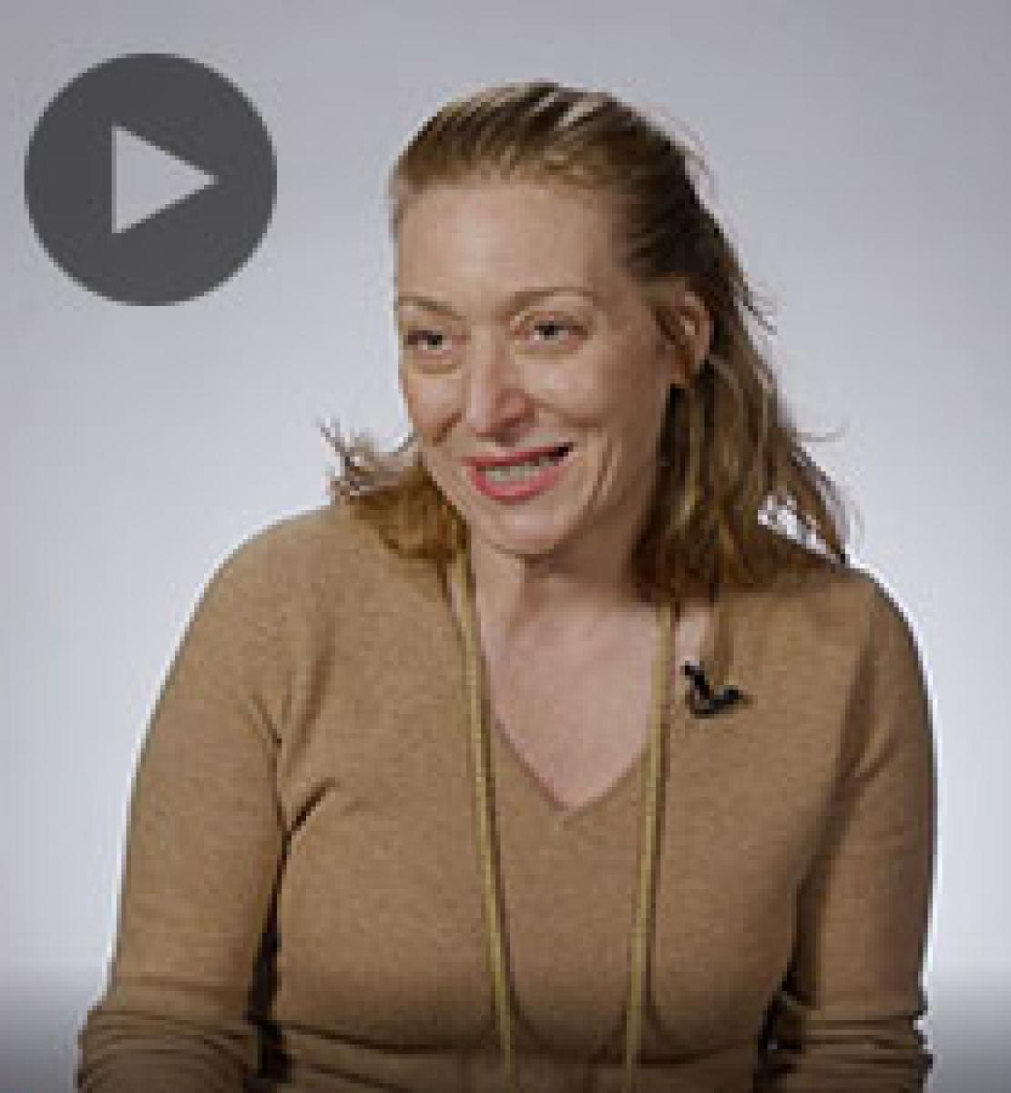 Screenshot from video message shows Resident Coordinator, Allegra Baiocchi