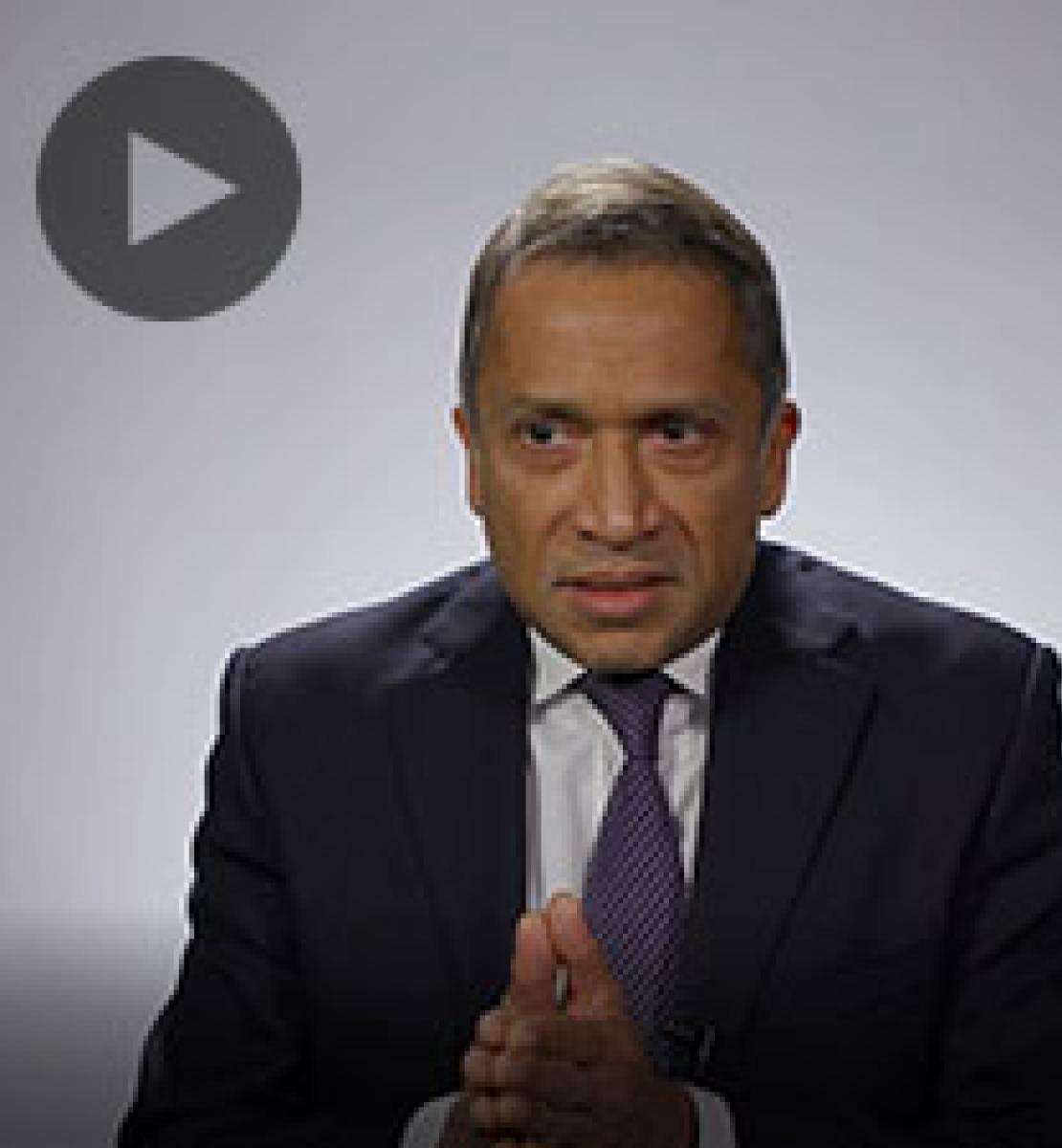 Screenshot from video message shows Resident Coordinator, Sanaka Samarasinha