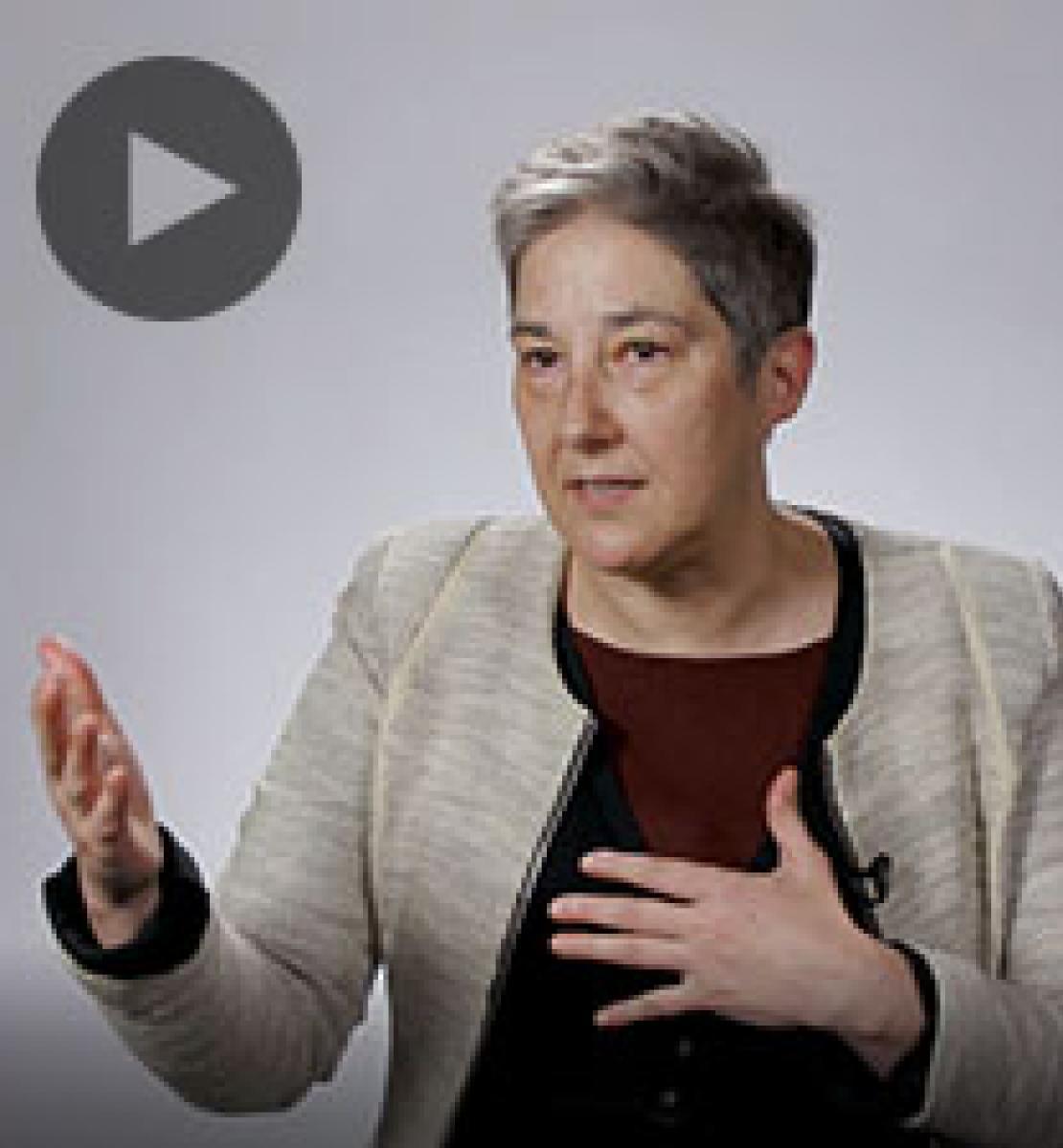 Screenshot from video message shows Resident Coordinator, Marta Ruedas