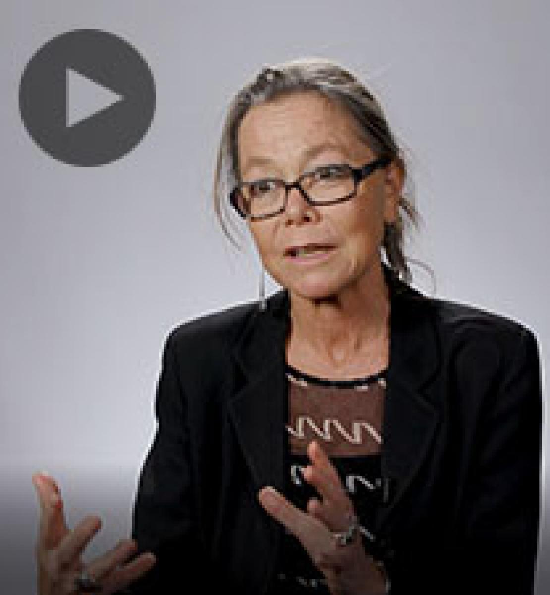 Screenshot from video message shows Resident Coordinator, Ulrika Richardson