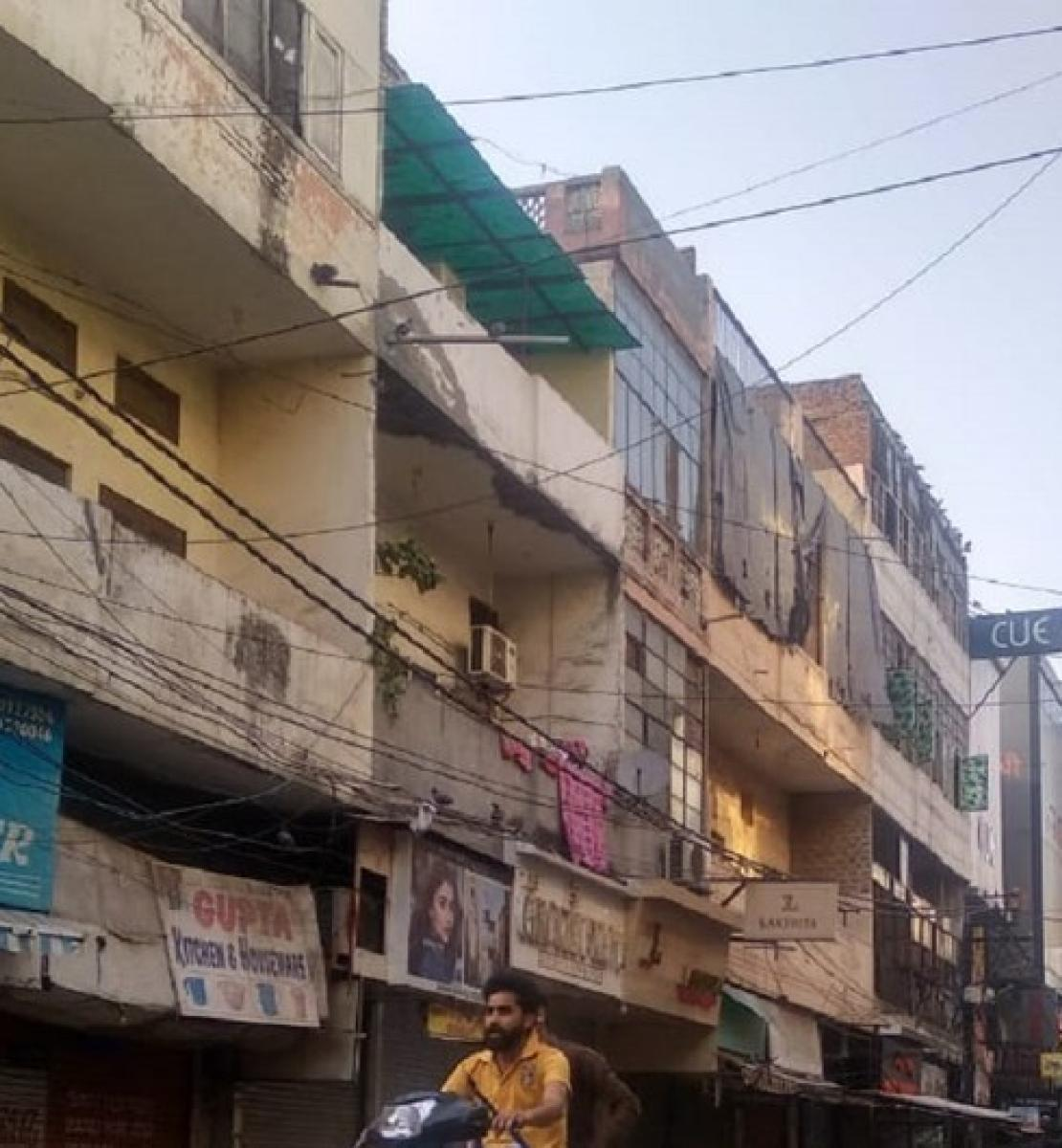 Shopkeepers have shuttered their stores in old Delhi, India following the government's announcement of a nationwide lockdown for 21 days to stem the spread of COVID-19.