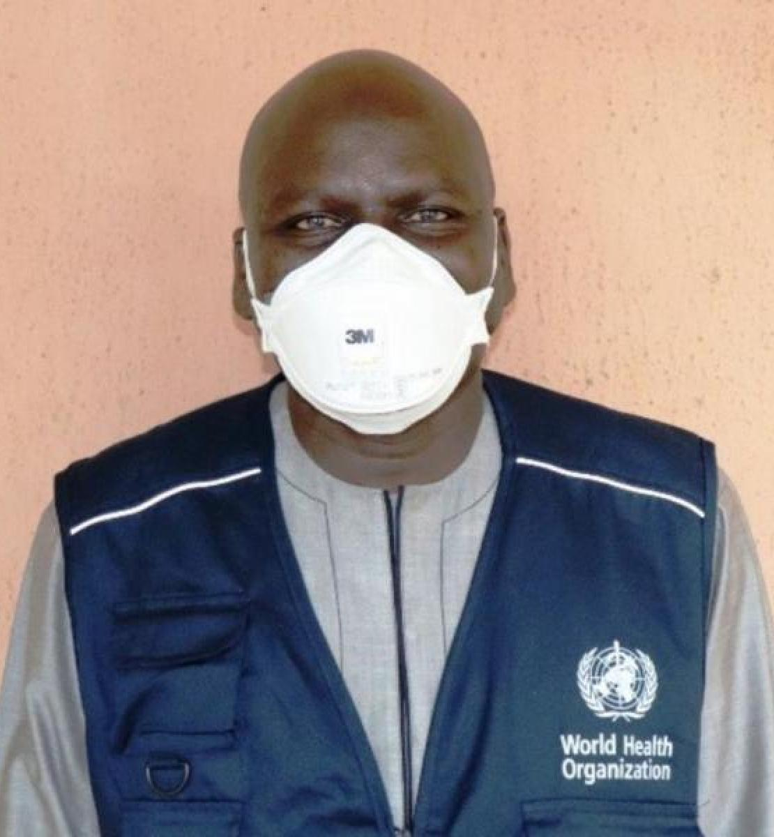Dr. Haruna Ismaila Adamu, recovered rom COVID-19 after taking the proper precautions.