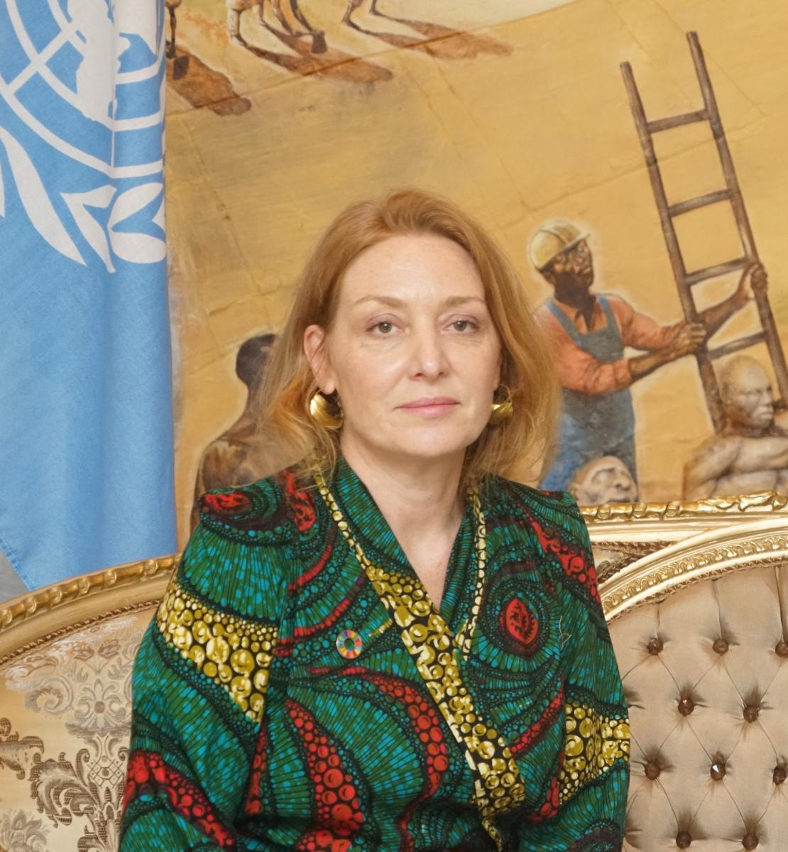 Photo of Allegra Baiocchi, new United Nations Resident Coordinator in Costa Rica