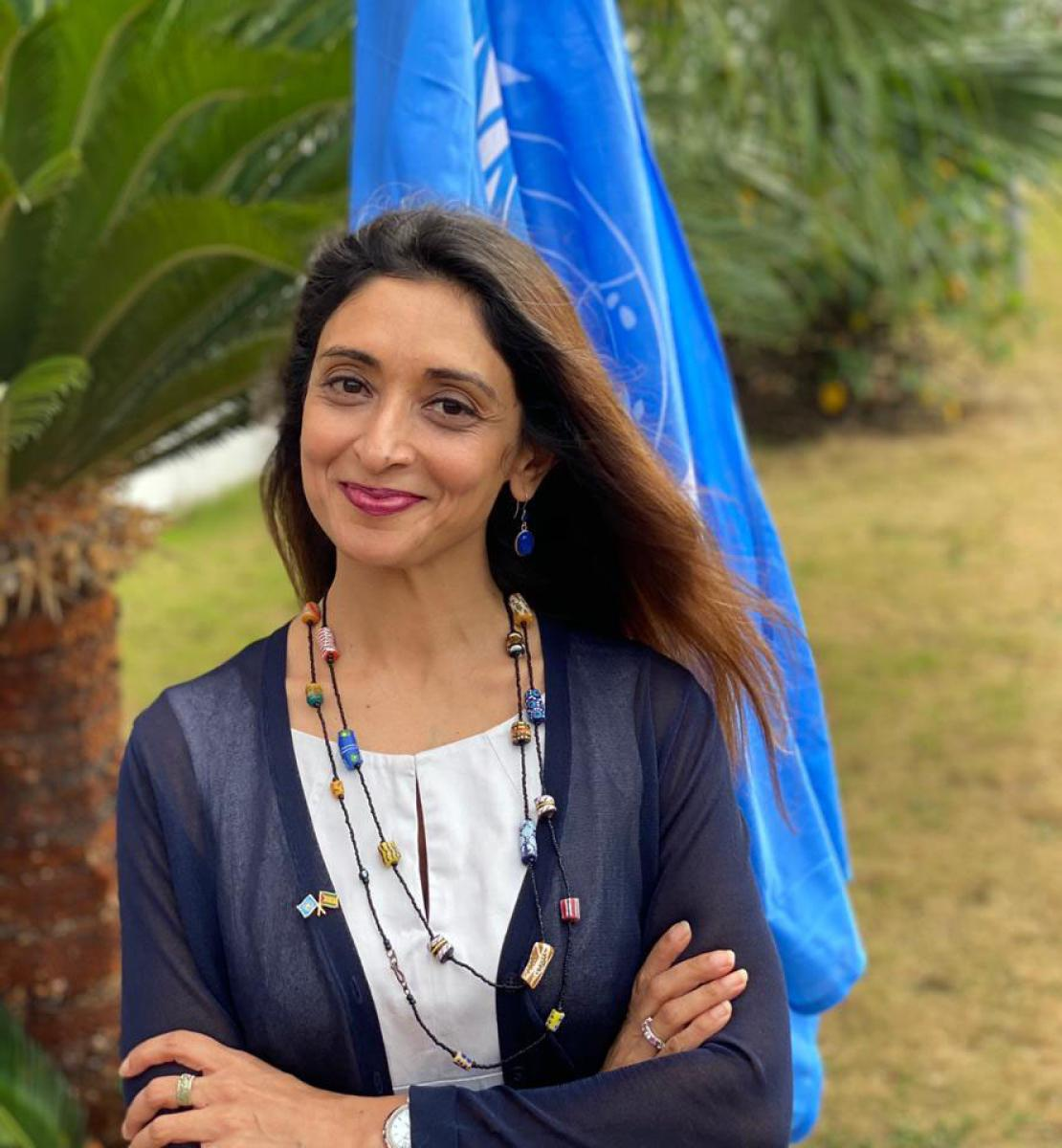 Official photo of the new appointed Resident Coordinator for Angola, Zahira Virani.