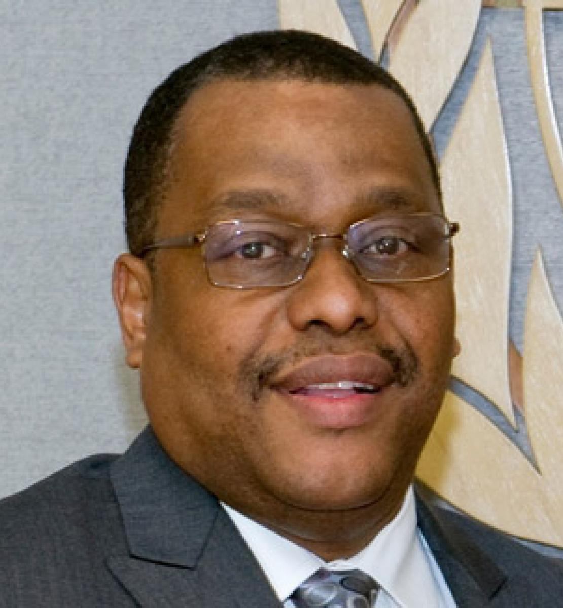 Official photo of the new appointed Resident Coordinator for Jamaica, Gary Conille.