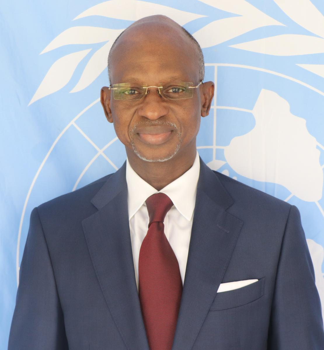 Official photo of the new appointed Resident Coordinator for Senegal, Siaka Coulibaly.