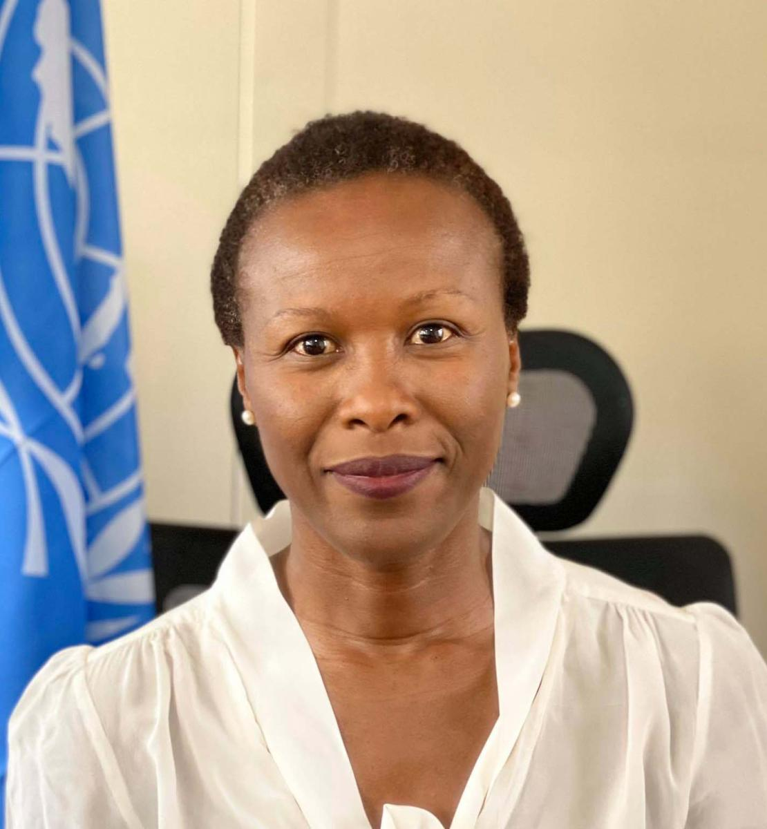 Official photo of the newly appointed Resident Coordinator for Uganda, Susan Ngongi Namondo.