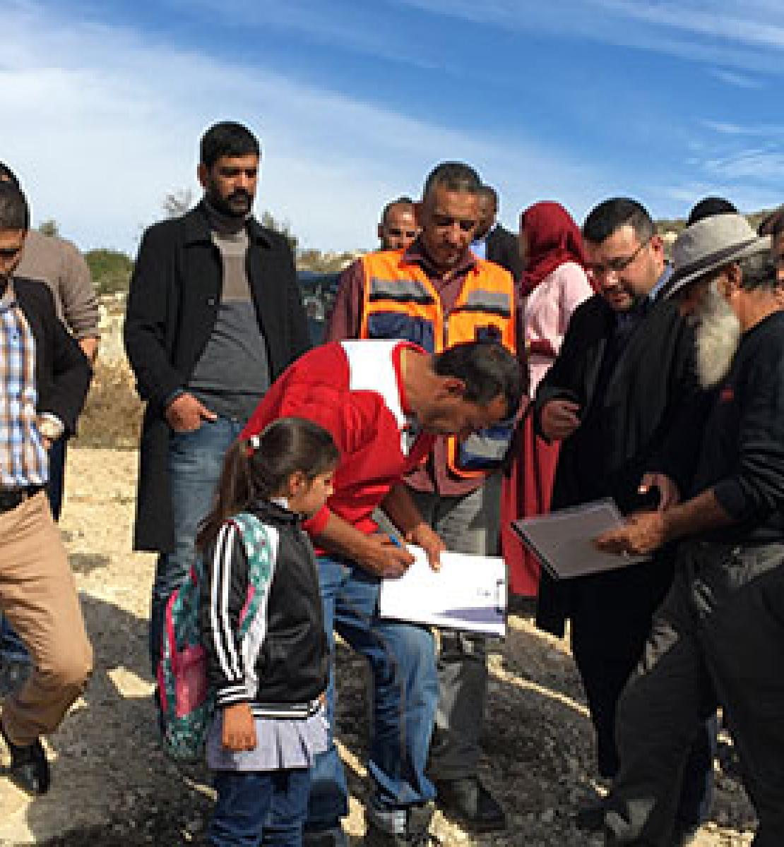 Powering up data collection systems in Palestine