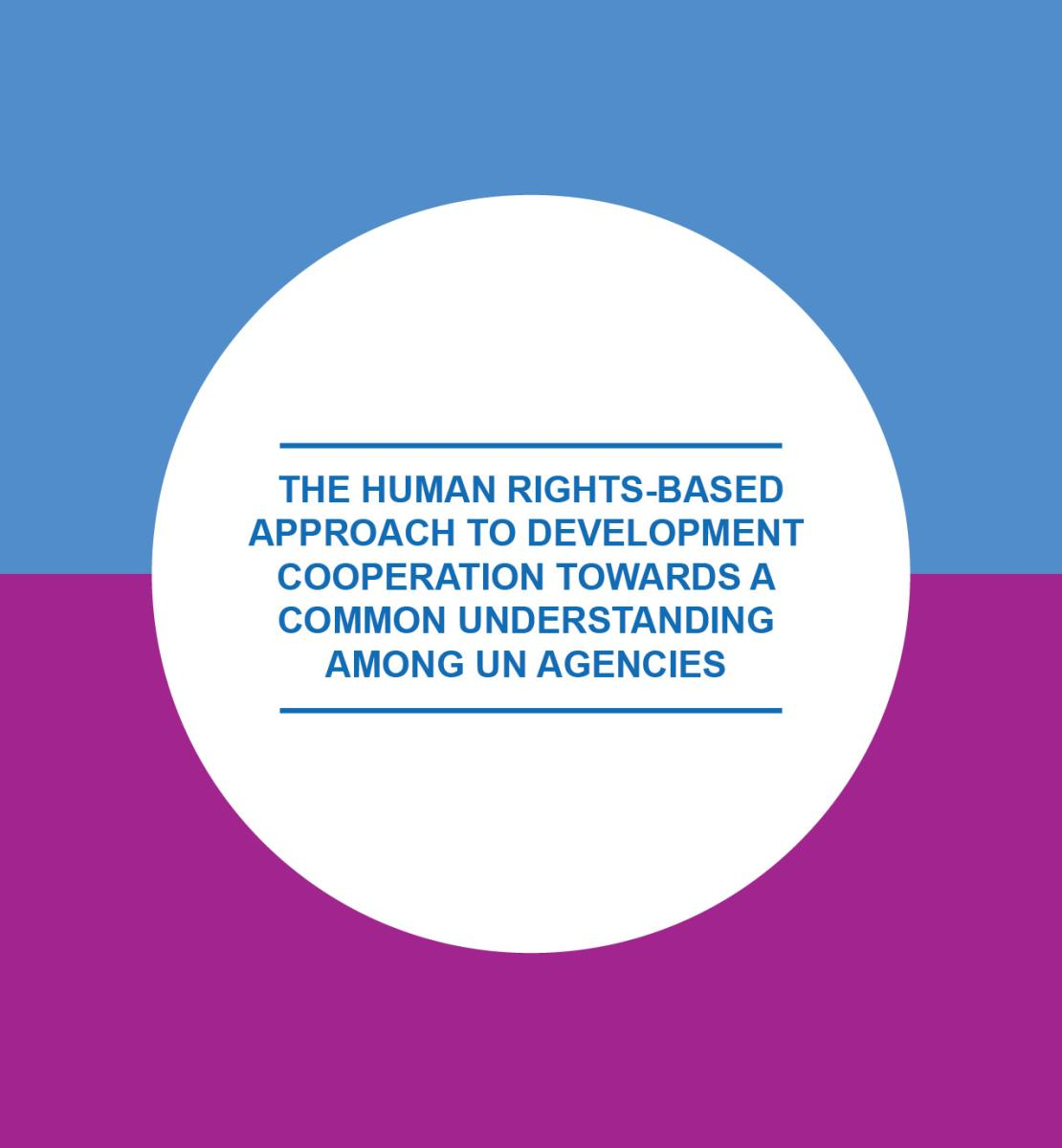 Human Rights Based Approach to Development Coordination