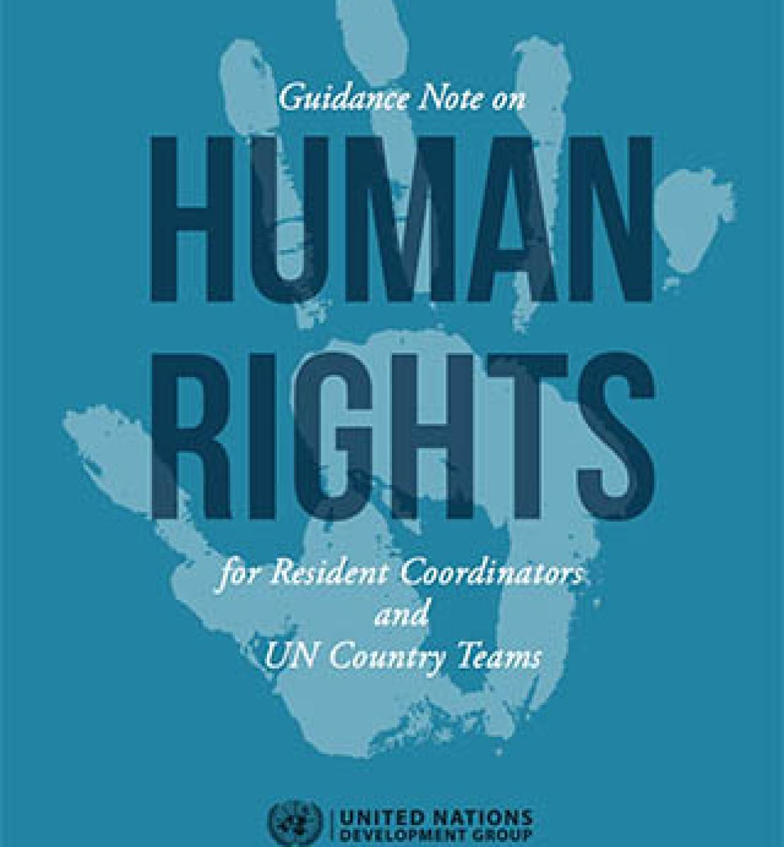UNSDG Guidance Note on Human Rights for Resident Coordinators and UN Country Teams