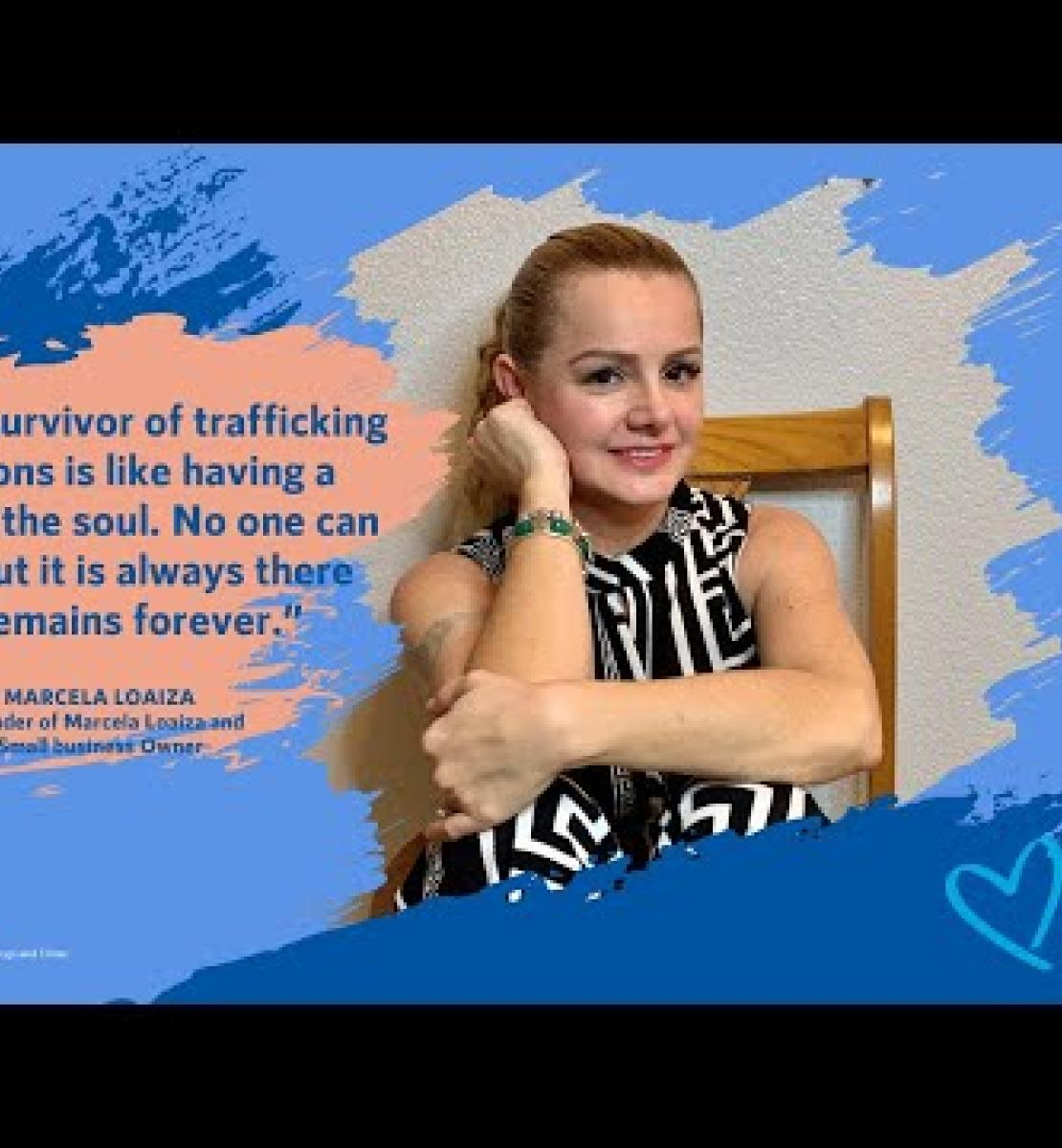 La parole des victimes ouvre la voie à la lutte contre la traite des êtres humains