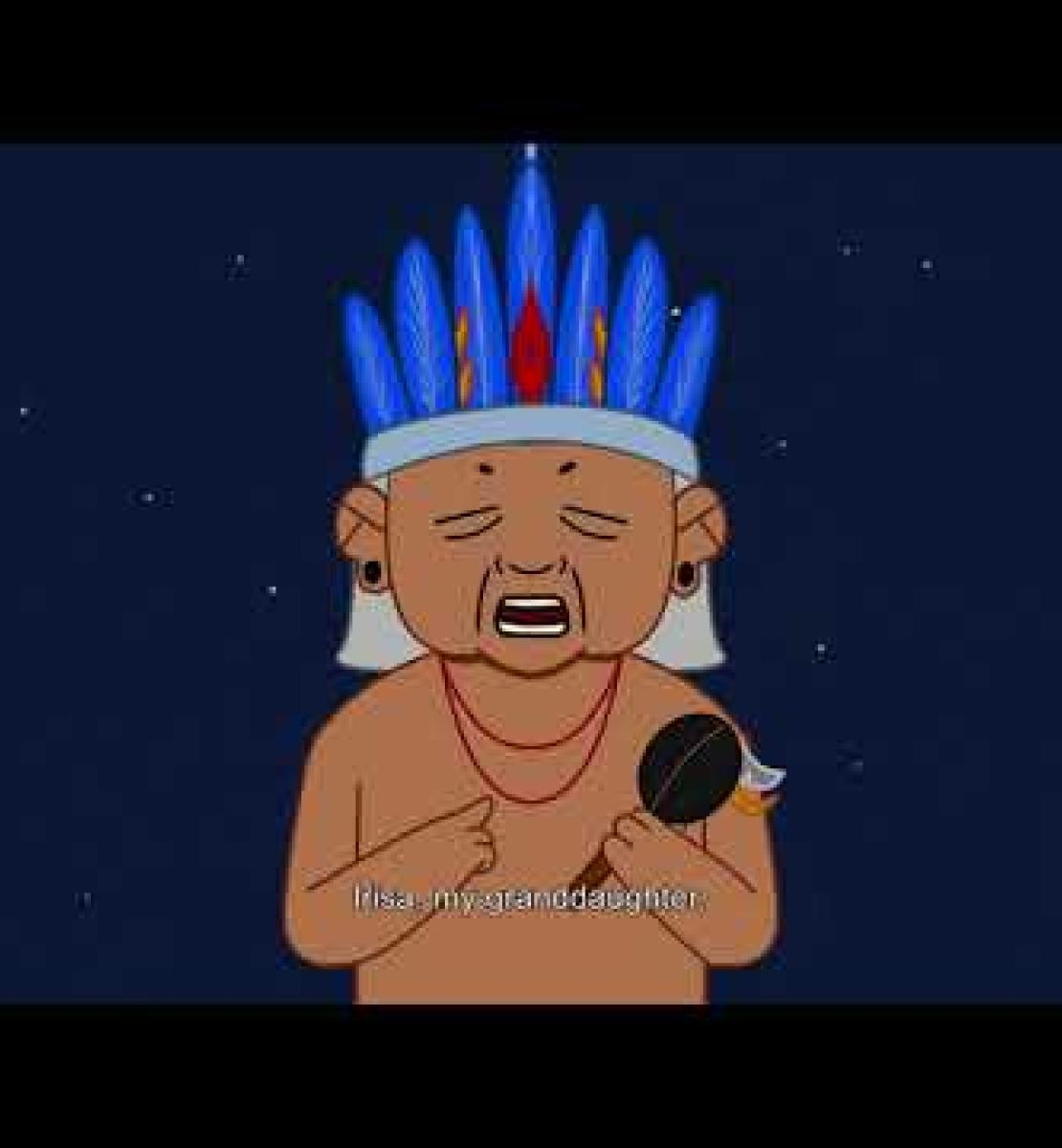 """""""Les grands guerriers"""" : un dessin animé apprend aux enfants autochtones à se protéger et à protéger leur communauté contre la COVID-19."""