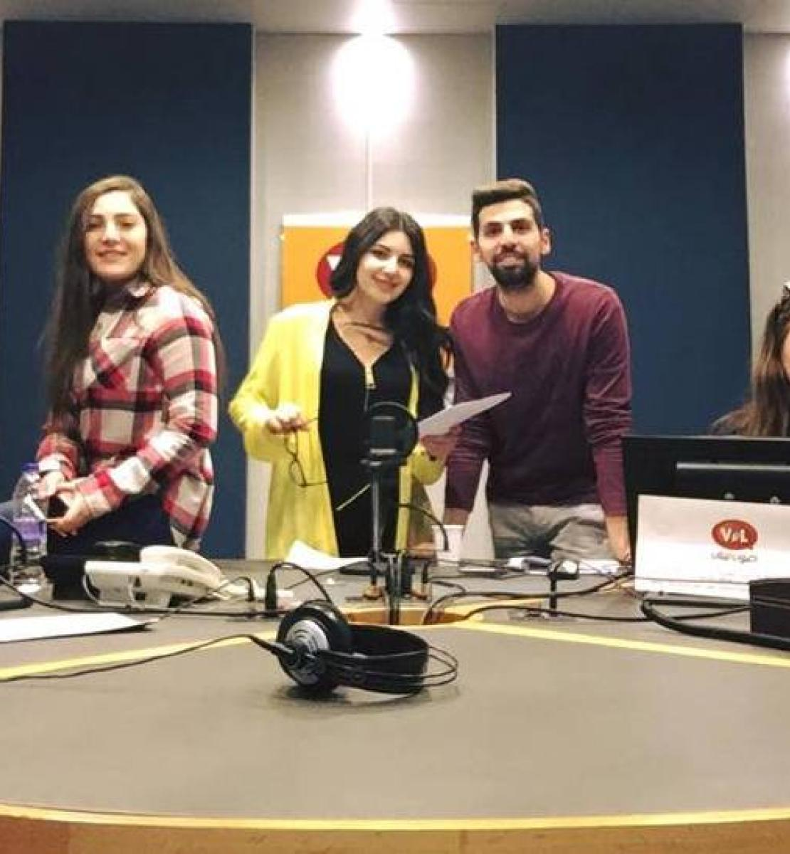 From radio to theatre, bringing the voices of youth to centre stage in Lebanon