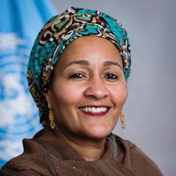 Amina Mohamed portrait