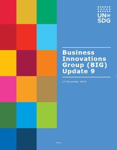 Business Innovations Group Update Nine