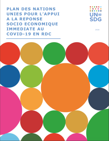 Cover shows the title in French against a white background with colourful circles underneath.