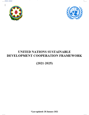 This is a document with a white background with the government logo on the left and UN logo on the write.  Denotes latest update on 28 January 2021.