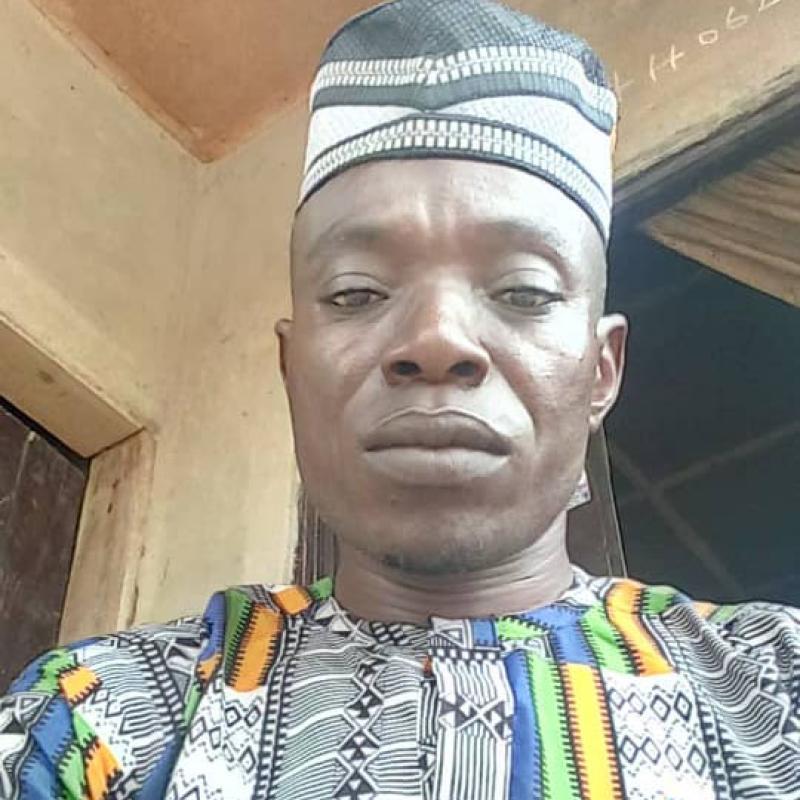 Photo shows a selfie of Bala Tsokwa.